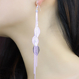 Exaggerated Crystal Tassels Party Earrings - Oh Yours Fashion - 2