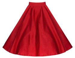 3D Flower Print Flare Ruffled Middle Skirt - Meet Yours Fashion - 2