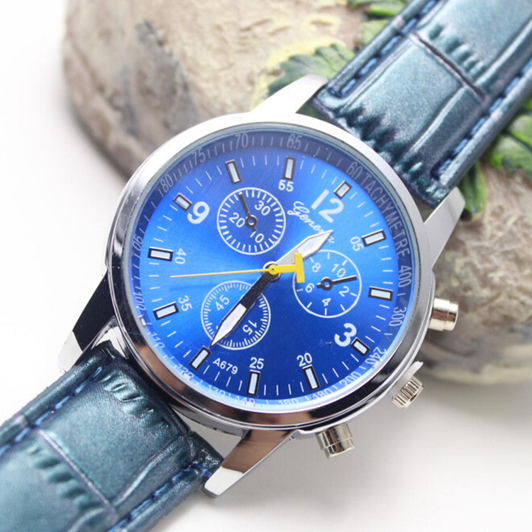 High-End Fashion Leather Lady's Watch - Oh Yours Fashion - 1