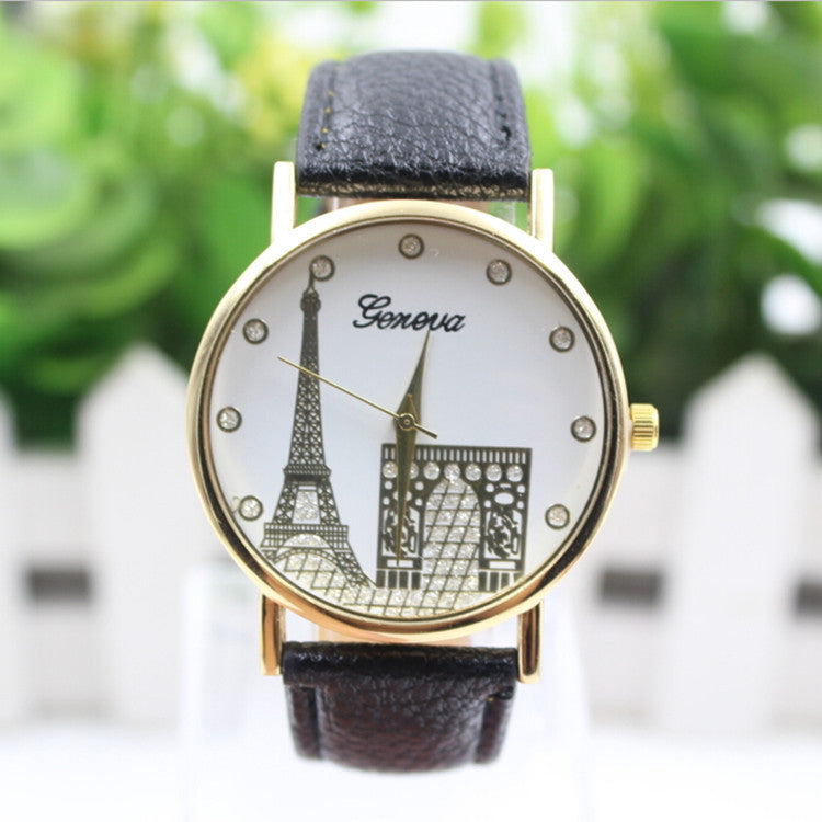 Building Design Print Leather Watch - Oh Yours Fashion - 5
