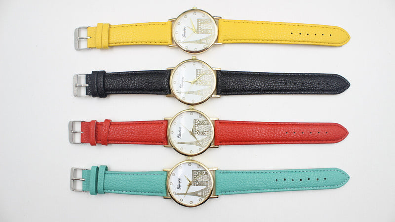 Building Design Print Leather Watch - Oh Yours Fashion - 9