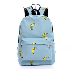 Lovely Korean Canvas Casual Backpack Bag - Oh Yours Fashion - 6