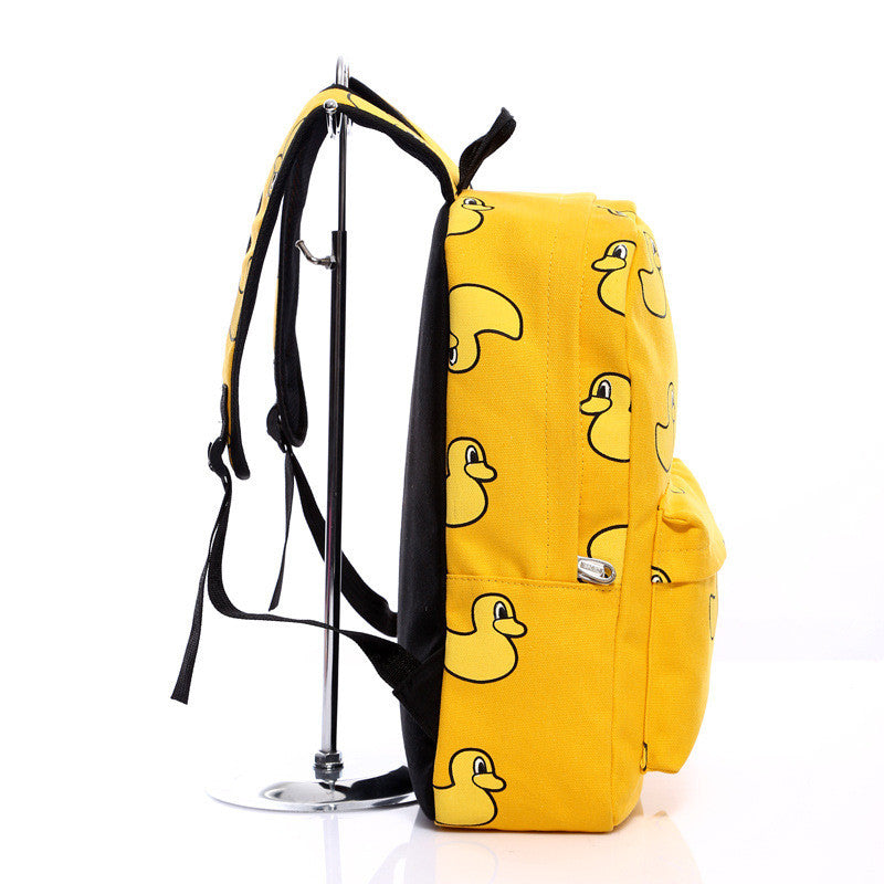 Lovely Korean Canvas Casual Backpack Bag - Oh Yours Fashion - 9