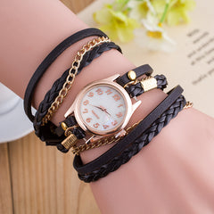 Bright Color Multilayer Woven Watch - Oh Yours Fashion - 4