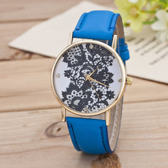 Black Floral Print Watch - Oh Yours Fashion - 8