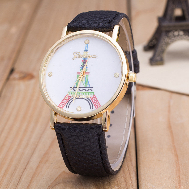 Simple Fashion The Eiffel Tower Watch - Oh Yours Fashion - 4