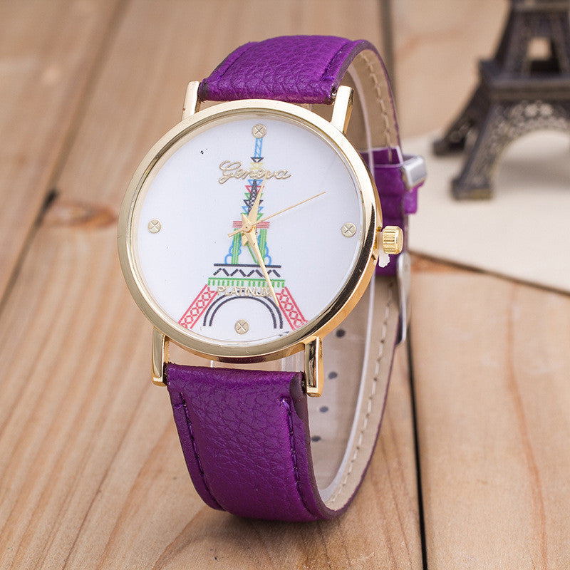 Simple Fashion The Eiffel Tower Watch - Oh Yours Fashion - 3