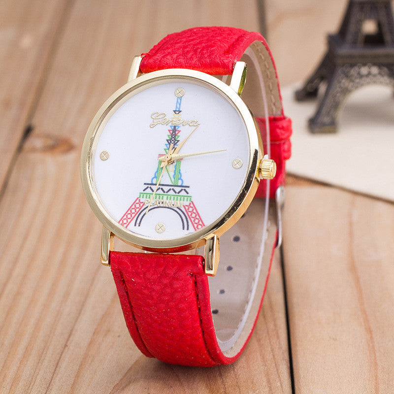 Simple Fashion The Eiffel Tower Watch - Oh Yours Fashion - 2