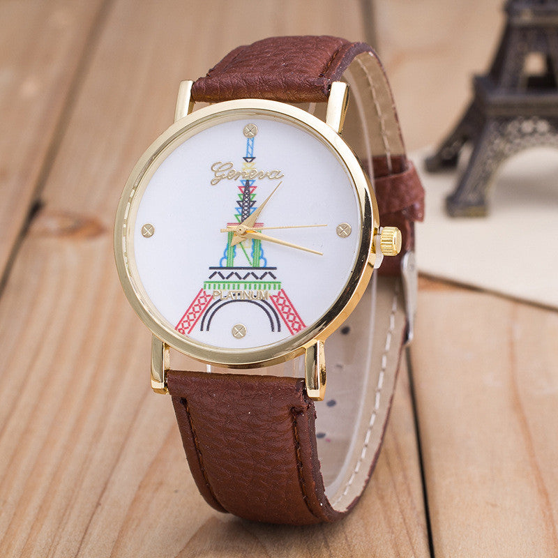 Simple Fashion The Eiffel Tower Watch - Oh Yours Fashion - 8