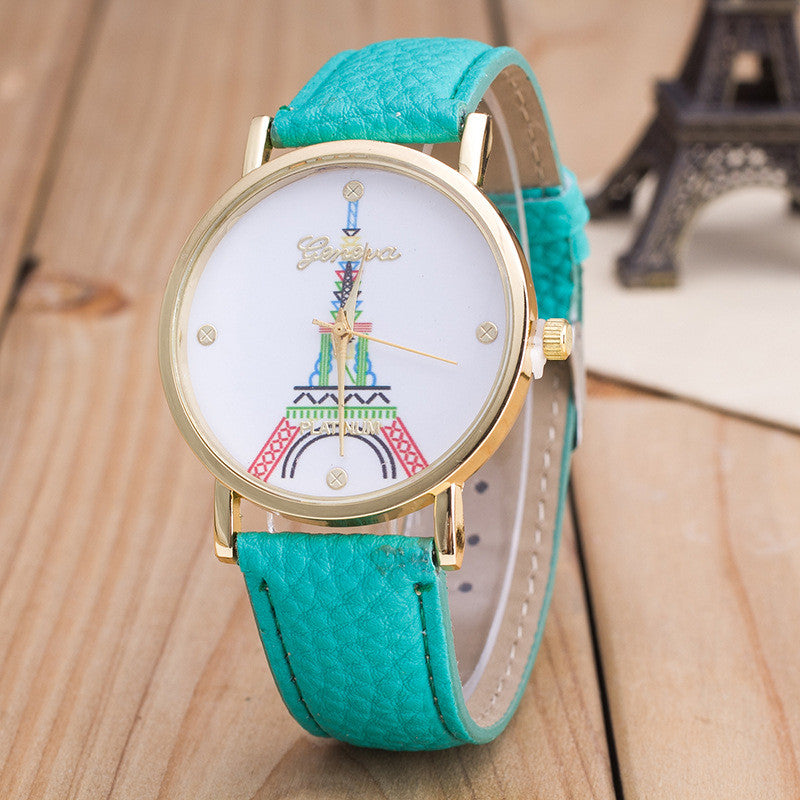 Simple Fashion The Eiffel Tower Watch - Oh Yours Fashion - 6