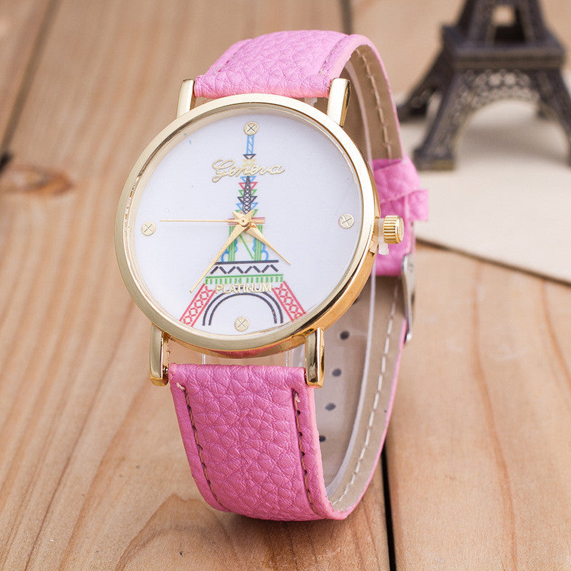 Simple Fashion The Eiffel Tower Watch - Oh Yours Fashion - 9