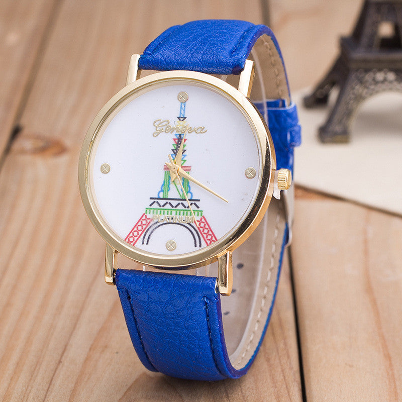 Simple Fashion The Eiffel Tower Watch - Oh Yours Fashion - 5