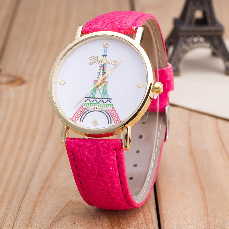Simple Fashion The Eiffel Tower Watch - Oh Yours Fashion - 7