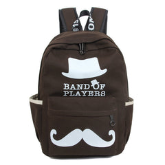 Fashion New Trend Lovely Mustache Backpack - Oh Yours Fashion - 5