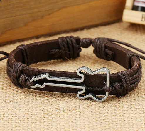 Hot Style Guitar Leather Bracelet - Oh Yours Fashion - 3