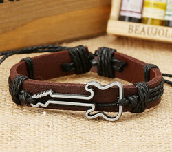 Hot Style Guitar Leather Bracelet - Oh Yours Fashion - 2