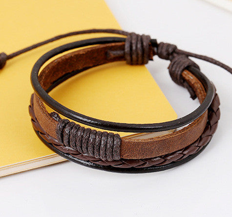 Personality Woven Multilayer Bracelet - Oh Yours Fashion - 4