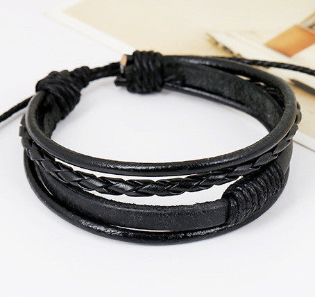Personality Woven Multilayer Bracelet - Oh Yours Fashion - 2