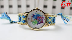 Color Matching Spinning Butterfly Flower Print Watch - Oh Yours Fashion - 9