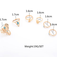 Exaggerate Elephant Snake Multi Combination Rings - Oh Yours Fashion - 3