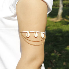 Natrual Shell Tassel Anklet Armlet - Oh Yours Fashion - 4