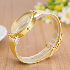 Classic Mesh Alloy Strap Fashion Watch - Oh Yours Fashion - 3