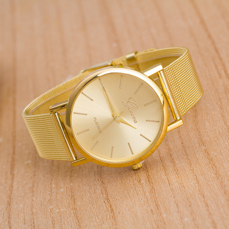 Classic Mesh Alloy Strap Fashion Watch - Oh Yours Fashion - 2