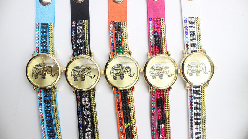 Colorful Beads Strap Elephant Watch - Oh Yours Fashion - 4