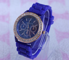 Casual Style Silica Gel Three Eyes Watch - Oh Yours Fashion - 8