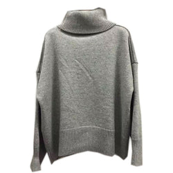 Loose Profile Joker Turtleneck Pullover Sweater - Oh Yours Fashion - 3