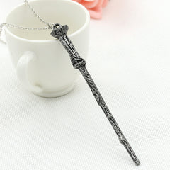 Alloy Ornament Magic Wand Necklace - Oh Yours Fashion - 5