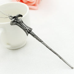 Alloy Ornament Magic Wand Necklace - Oh Yours Fashion - 2