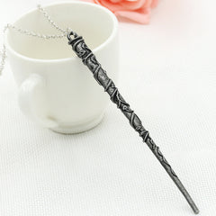 Alloy Ornament Magic Wand Necklace - Oh Yours Fashion - 4