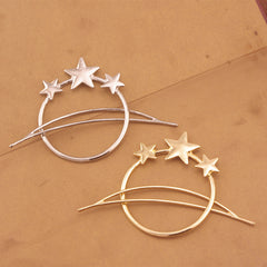 Bohemian Joker Pentagram Stars Braid Up Hair Accessories - Oh Yours Fashion - 3