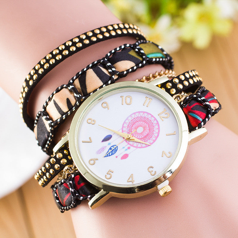 National Style Dreamcatcher Bracelet Watch - Oh Yours Fashion - 3