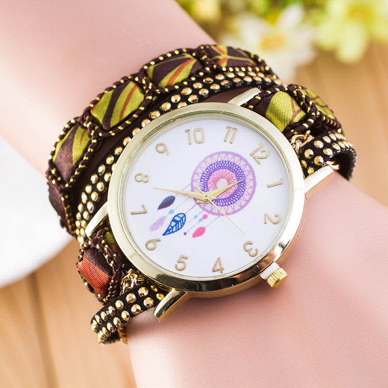 National Style Dreamcatcher Bracelet Watch - Oh Yours Fashion - 1