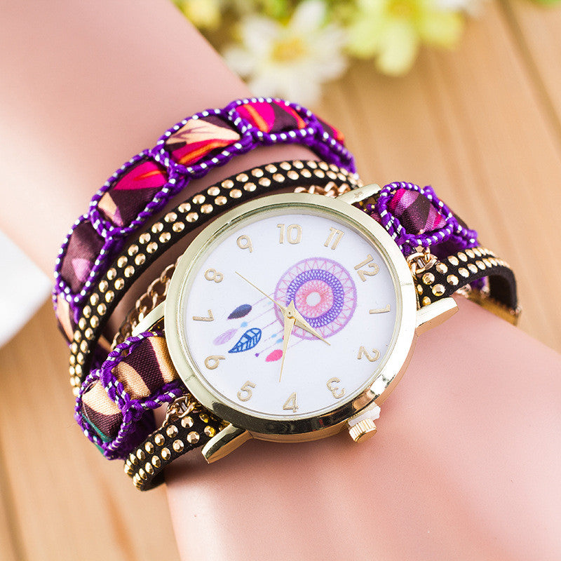 National Style Dreamcatcher Bracelet Watch - Oh Yours Fashion - 2