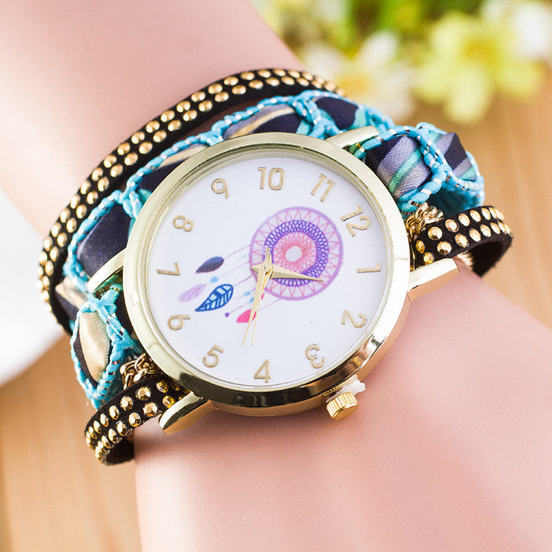 National Style Dreamcatcher Bracelet Watch - Oh Yours Fashion - 4