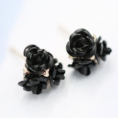 Ceramic Roses Diamond Earring - Oh Yours Fashion - 15