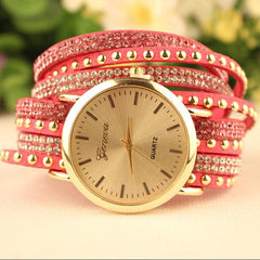 Fashion Rivet Bracelets Watch - Oh Yours Fashion - 6