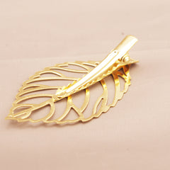 Metal Leaves Women's Hair Clips - Oh Yours Fashion - 6