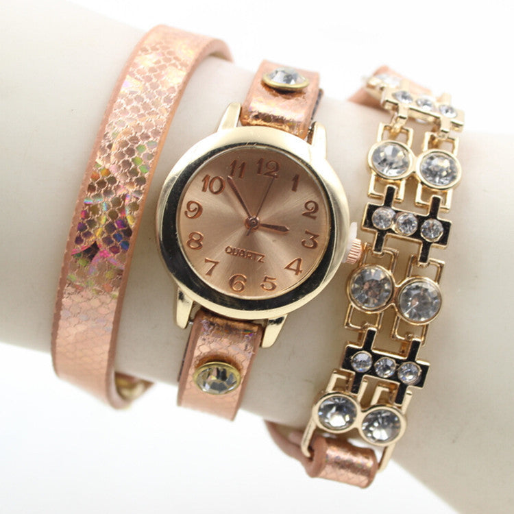 Personality Crystal Patchwork Watch - Oh Yours Fashion - 1