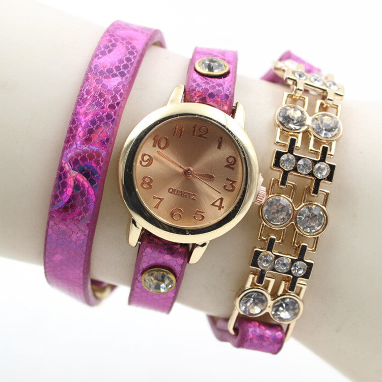 Personality Crystal Patchwork Watch - Oh Yours Fashion - 6