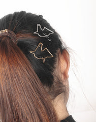 Hollow Out Unicorn Women's Joker Hair Clips - Oh Yours Fashion - 6