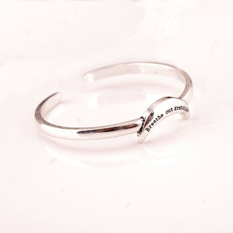 Exaggerated Snake Moon Opening Ring Bracelet - Oh Yours Fashion - 10