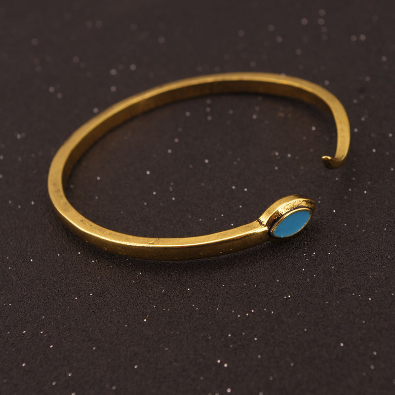 Exaggerated Snake Moon Opening Ring Bracelet - Oh Yours Fashion - 6