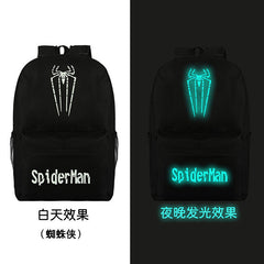 Noctilucent Canvas Chic Backpack Black School Bag - Oh Yours Fashion - 19
