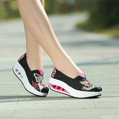 Shaking Print Women's Breathable Sneakers - Oh Yours Fashion - 7