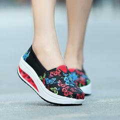 Shaking Print Women's Breathable Sneakers - Oh Yours Fashion - 11