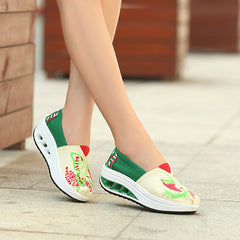 Shaking Print Women's Breathable Sneakers - Oh Yours Fashion - 8